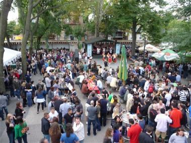 Community Bohemian Hall Beer Garden